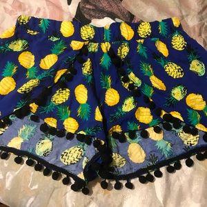 Pineapple 🍍 shorts